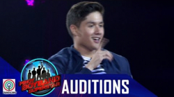 Pinoy Boyband Superstar Judges' Auditions: Alfonso Avila