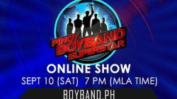 Pinoy Boyband Superstar Online Show - September 10, 2016