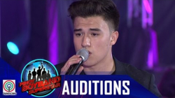 "Pinoy Boyband Superstar Judges' Auditions: Markus Paterson – ""Tadhana"""