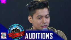 Pinoy Boyband Superstar Judges' Auditions: Miggy Campbell