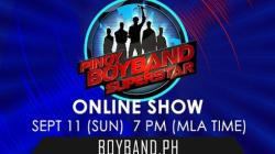 Pinoy Boyband Superstar Online Show - September 11, 2016
