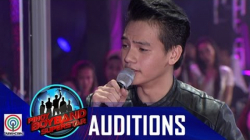 "Pinoy Boyband Superstar Judges' Auditions: Mike Villamor – ""Gusto Kita"""