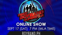 Pinoy Boyband Superstar Online Show - September 17, 2016