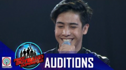 Pinoy Boyband Superstar Judges' Auditions: Sean Cruz
