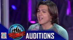 "Pinoy Boyband Superstar Judges' Auditions: Alfonso Vivar - ""Narda"""
