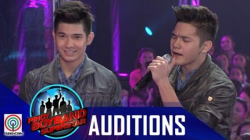 "Pinoy Boyband Superstar Judges' Auditions: Kyle Dwight and Keirt Sabinay– ""Pangako"""