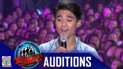 "Pinoy Boyband Superstar Judges' Auditions: Russell Reyes -""Lately"""