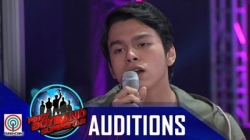 Pinoy Boyband Superstar Judges' Auditions: Angelo Sison -