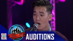 "Pinoy Boyband Superstar Judges' Auditions: Bradyn Villanueva - ""Love Yourself"""