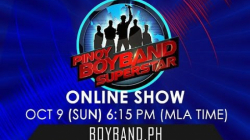 Pinoy Boyband Superstar Online Show - October 9, 2016