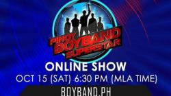 Pinoy Boyband Superstar Online Show - October 15, 2016