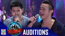 "Pinoy Boyband Superstar Judges' Auditions: Joelo and Lucho Beech - ""Your Love"" / ""Here Without You"""
