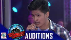 "Pinoy Boyband Superstar Judges' Auditions: Aaron Saguin – ""Di Bale Na Lang"""