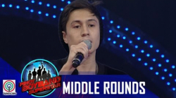 "Pinoy Boyband Superstar Middle Rounds: Sef Hynard - ""Walang Iba"""