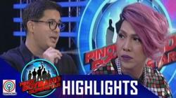 Aga at Vice, pinagtalunan ang mga english speaking contestants