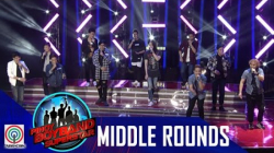 Pinoy Boyband Superstar Middle Rounds: Team A -