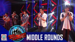 Pinoy Boyband Superstar Middle Rounds: Joshua, Henz, Luigi, Joao and Mark -