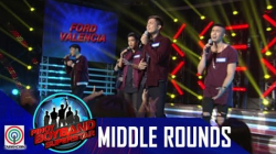 Pinoy Boyband Superstar Middle Rounds: Ford, Tony, Jindric, Angelo and Jimsen -