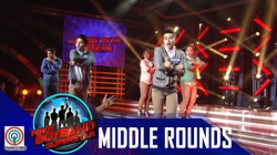 "Pinoy Boyband Superstar Middle Rounds: Miko, James, Guion, Tristan & Twinkabogable - ""Uptown Girl"""
