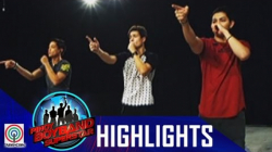 Pinoy Boyband Superstar Live Shows: Ford, James & Joao Rehearsal