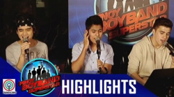 Pinoy Boyband Superstar Live Shows: Henz, Niel & Markus Rehearsal
