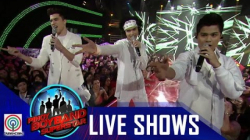 "Pinoy Boyband Superstar Live Shows: Henz, Niel & Markus - ""I Want It That Way"""
