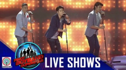 "Pinoy Boyband Superstar Live Shows: Mark, Tony & Tristan - ""Because Of You"""