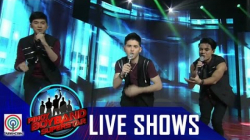 "Pinoy Boyband Superstar Live Shows: Allen, Miko & Russell - ""Tearin' Up My Heart"""