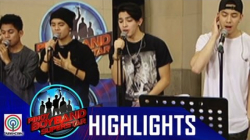 Pinoy Boyband Superstar Live Shows: Joao, Niel, Tony & Russell Rehearsal