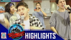 Pinoy Boyband Superstar Live Shows: James, Henz, Mark & Miko Rehearsal