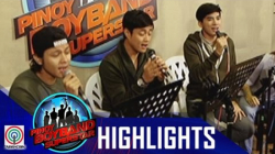Pinoy Boyband Superstar Live Shows: Allen, Ford & Tristan Rehearsal