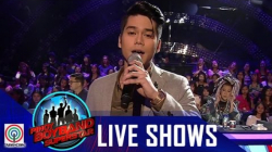 "Pinoy Boyband Superstar Live Shows: Mark Oblea - ""Time Of My Life"""