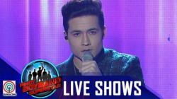 "Pinoy Boyband Superstar Live Shows: James Ryan Cesena - ""Say Something"""