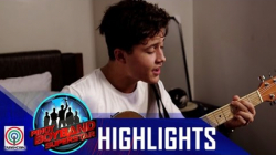 Pinoy Boyband Superstar Live Shows: James Ryan Cesena's Rehearsal